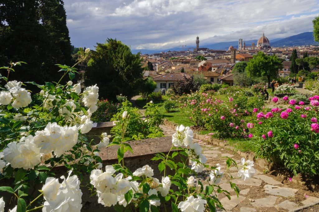 Visitare Firenze con bambini: il Giardino delle Rose
