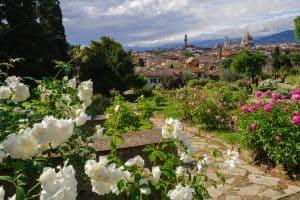 Visitare Firenze : il Giardino delle rose