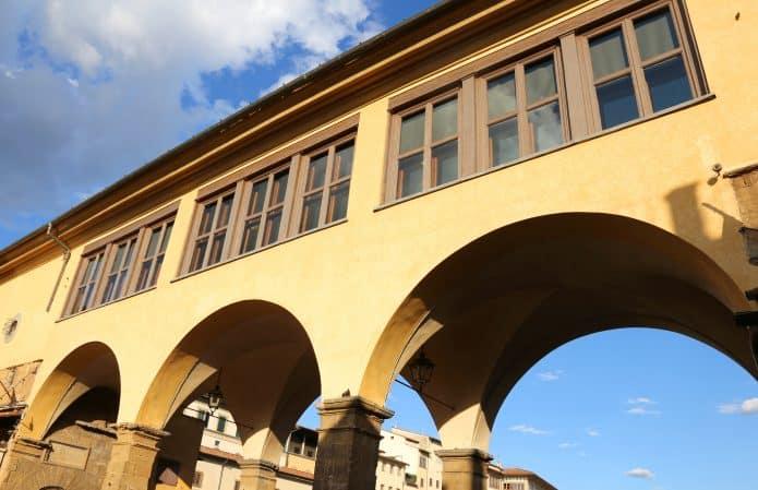 Ill Corridoio Vasariano a Firenze