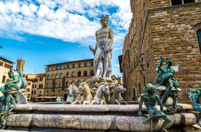 Piazza della Signoria, in cima lista di cosa vedere a Firenze