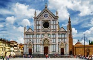 Piazza Santa Croce, una delle piazze principali di Firenze