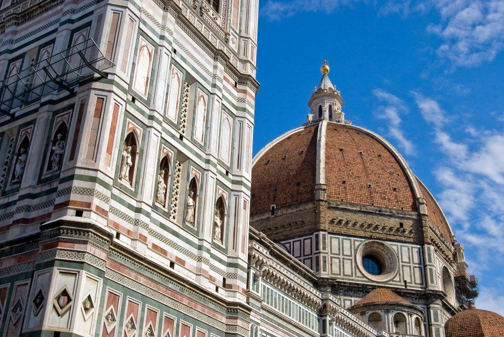 Una delle principali attrazioni di Firenze, Santa Maria del Fiore e il Campanile di Giotto