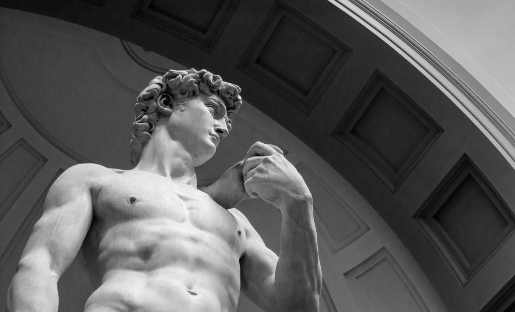 La Galleria dell'Accademia , uno dei musei di Firenze più gettonati.