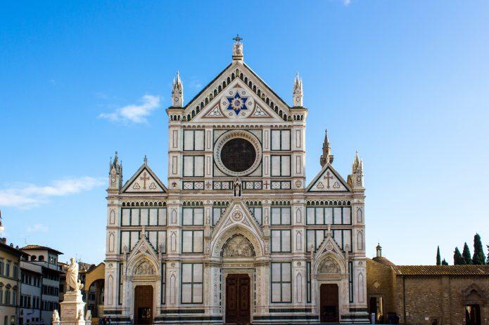 La basilica di Santa Croce a Firenze