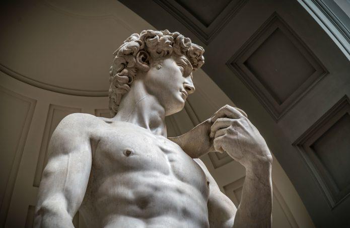 Il david è ospitato nella Galleria dell'Accademia a Firenze