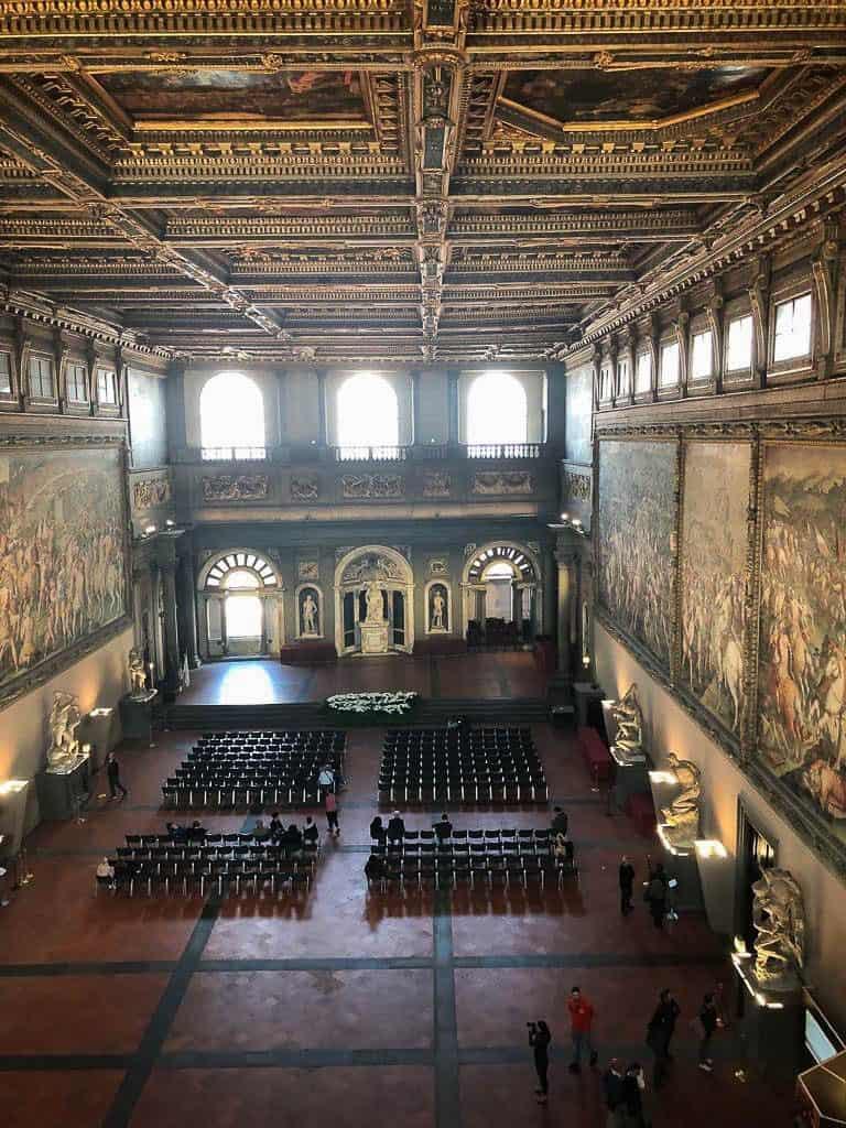 Palazzo Vecchio a Firenze - Salone dei Cinquecento