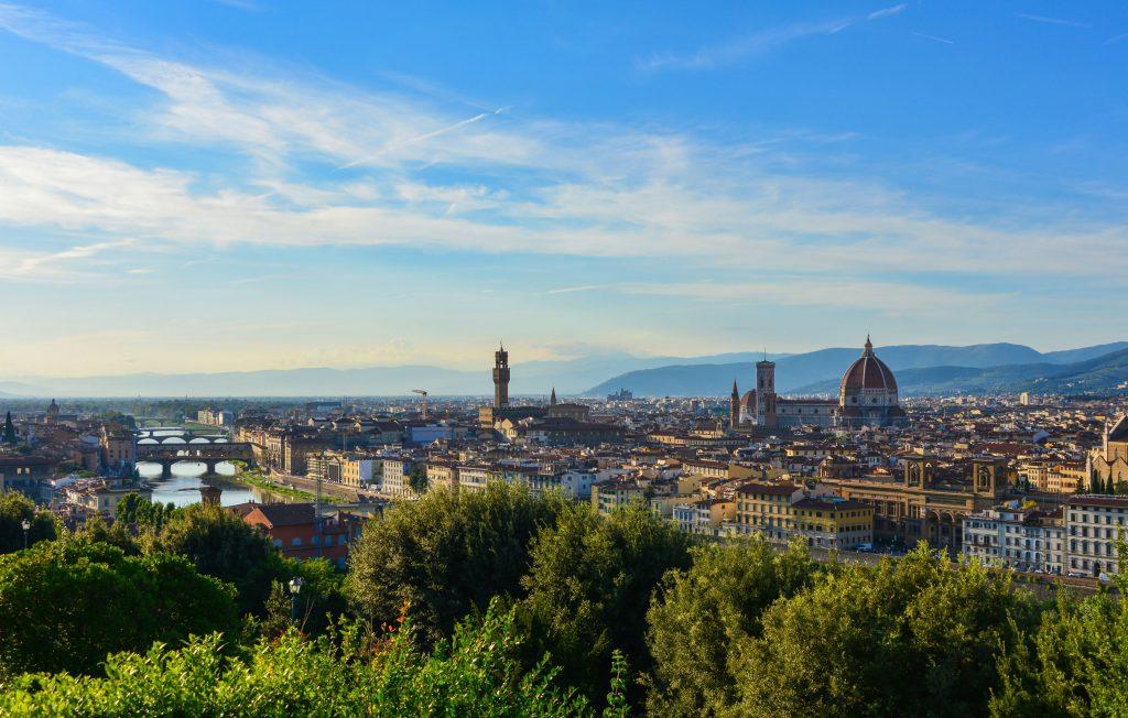 Panorama di Firenze: il migliore lo potete godere da piazzale Michelangelo