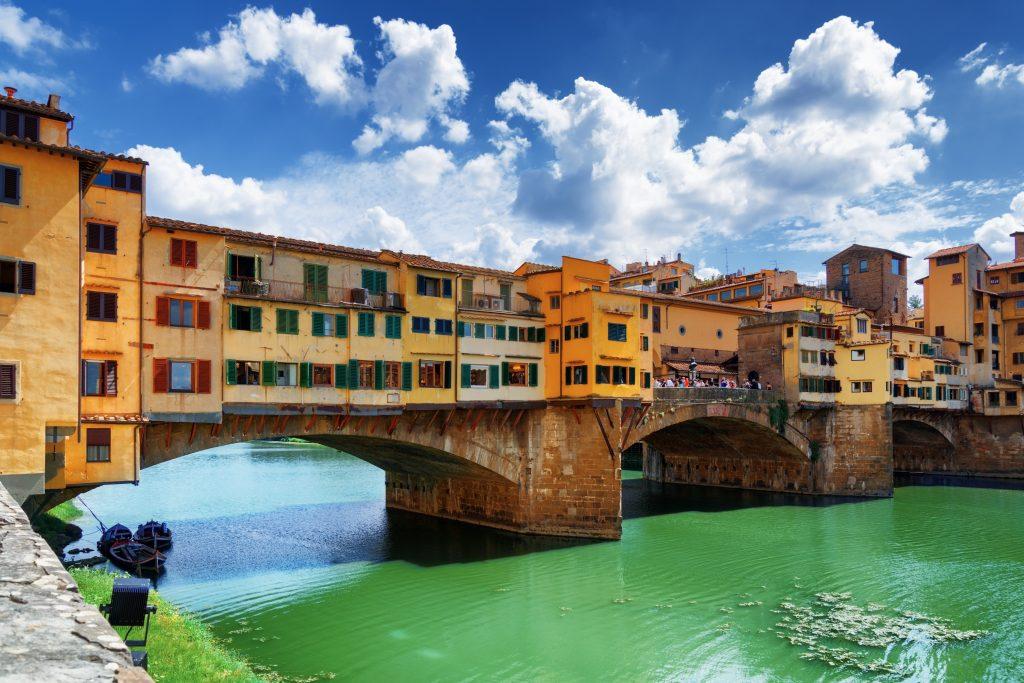 Il Ponte Vecchio, una delle attrazioni principali di Firenze