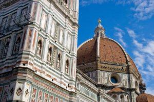 La cupola Cupola del Brunelleschi e il Campanile di Giotto. Biglietti on line per evitare la fila
