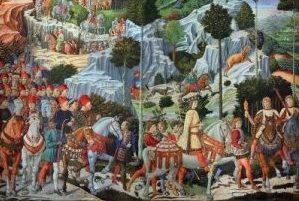 La Cavalcata dei Magi di Benozzo Gozzoli, tra le cosa da visitare a Firenze