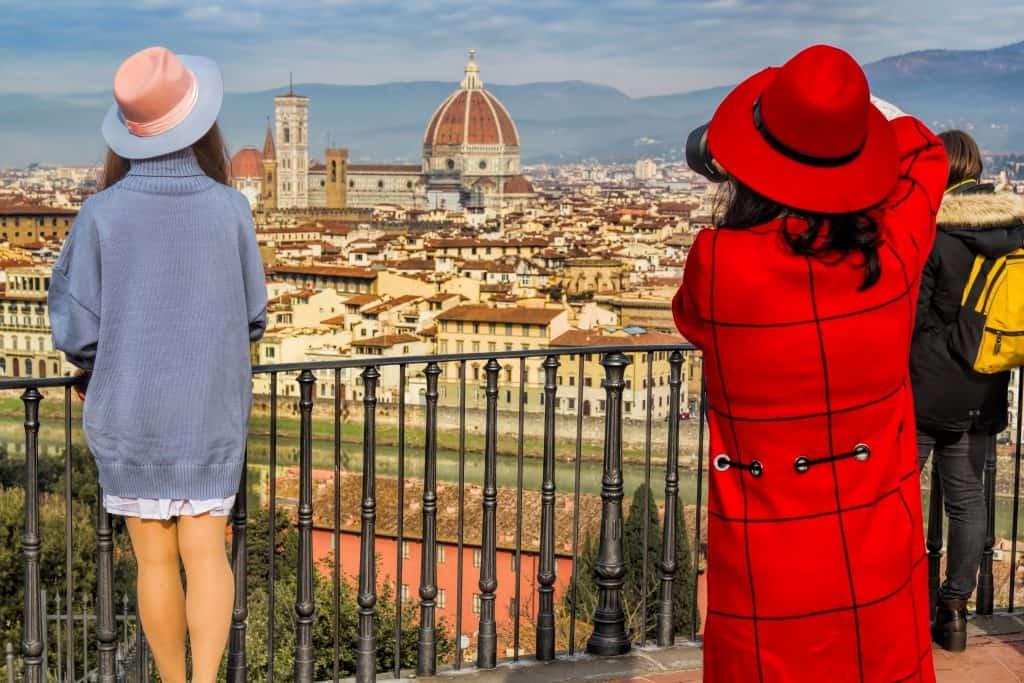 Firenze dall'alto: vista da piazzale Michelangelo