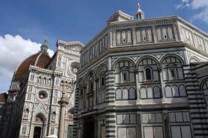Il battistero di Firenze, una delle attrazioni più visitate