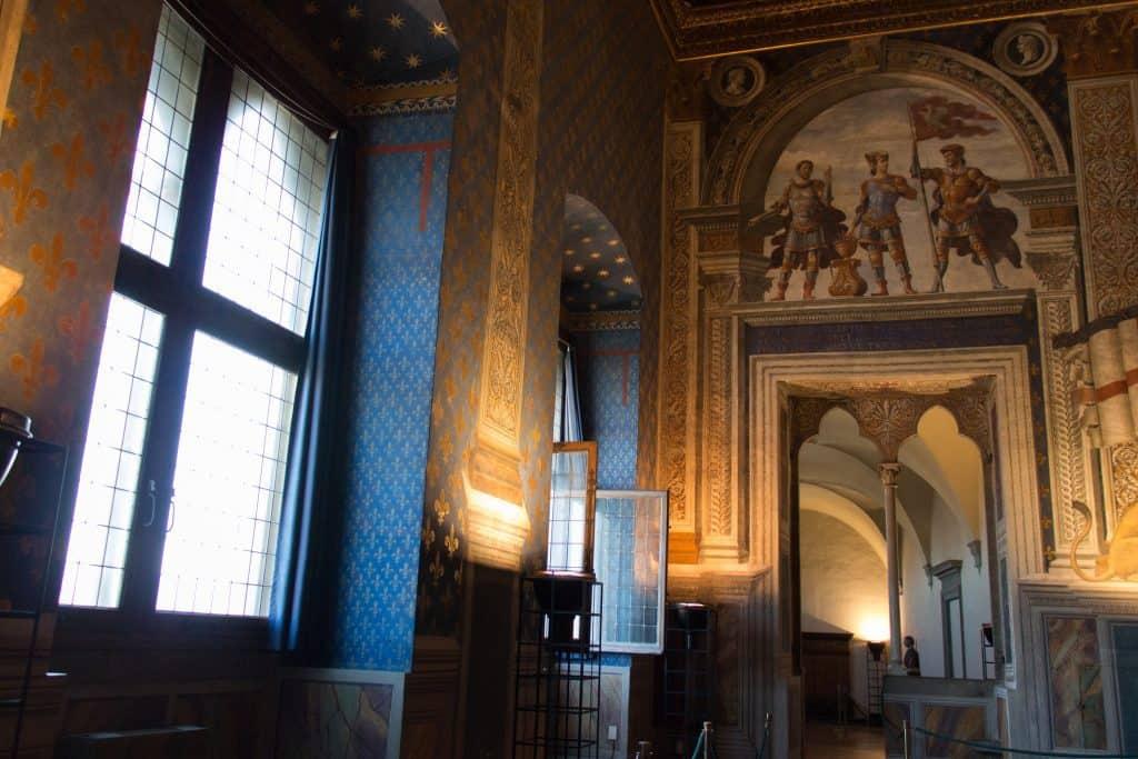 Visita a Palazzo Vecchi a Firenze: la Sala del Giglio