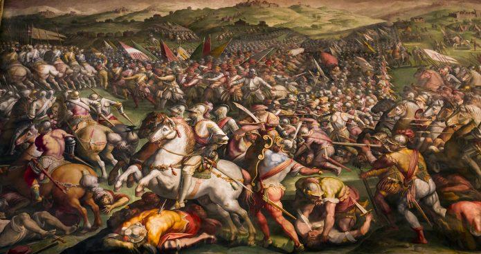 Visita Palazzo Vecchio - La battaglia di Marciano